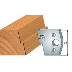 Комплекты ножей и ограничителей серии 690/691 #027 CMT Ножи и ограничители для фрез 40 мм Ножи